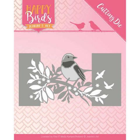 Jeanines Happy Birds stanssi Bird Sleeve
