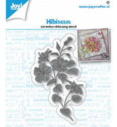 Joy! crafts Hibiscus -stanssi