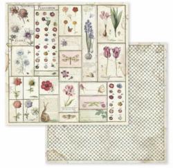 Stamperia skräppipaperi Spring Botanic Herbarium