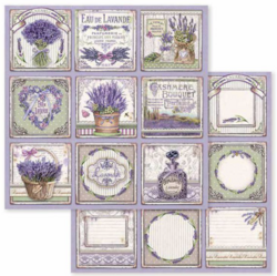 Stamperia skräppipaperi Provence Cards