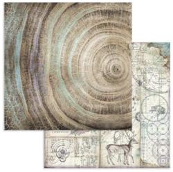 Stamperia skräppipaperi Cosmos Knots