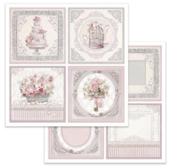 Stamperia skräppipaperi Wedding Cards