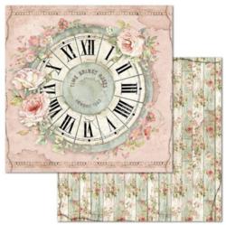 Stamperia skräppipaperi Clock
