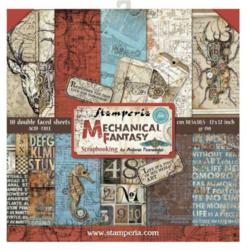 Stamperia paperipakkaus Mechanical Fantasy, 12
