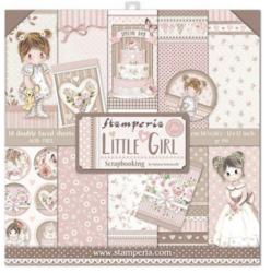 Stamperia paperipakkaus Little Girl, 12