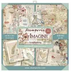 Stamperia Maxi paperipakkaus Imagine, 12