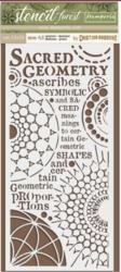 Stamperia sapluuna Forest Sacred Geometry