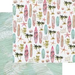 Prima Surfboard -skräppipaperi Wild Wave