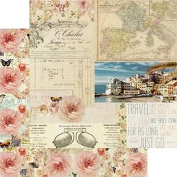 Prima Capri -skräppipaperi Punta Del Monaco