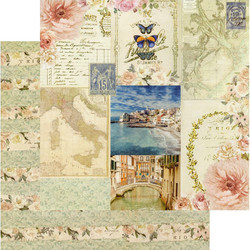 Prima Capri -skräppipaperi Marina Grande