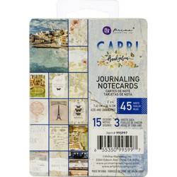 Prima Capri Journaling Notecards,  3