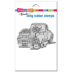 Stampendous leimasin Pup On Truck