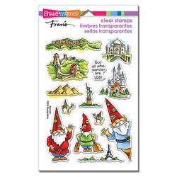 Stampendous leimasinsetti Gnome Travels