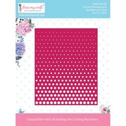 Dress My Craft stanssi Dotted Background