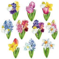 Valmiiksi leikattuja 3D kuvia, Flowers In Spring