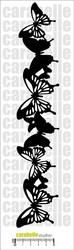 Carabelle Studio Frise Papillons -sapluuna