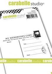 Carabelle Studio My Memorydex Card -leimasin