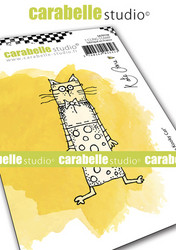 Carabelle Studio Little Kooky Cat -leimasin