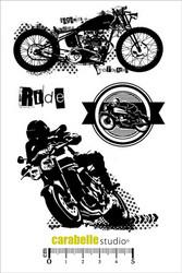 Carabelle Studio Un ride a Motos -leimasinsetti