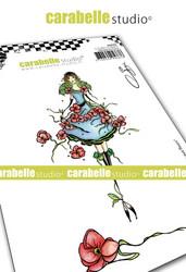 Carabelle Studio Jeune fille aux fleurs -leimasinsetti