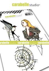 Carabelle Studio Etude #1 : Femme & Oiseau -leimasinsetti