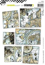 Carabelle Studio Illustrations, The world -leimasin
