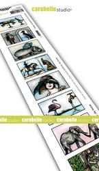 Carabelle Studio 8 labels, Des hommes et des animaux -leimasin