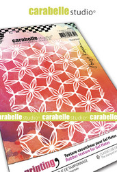 Carabelle Studio tekstuurilevy Floral Grid by Birgit Koopsen