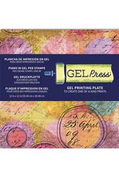 Gel Press Plate, 12