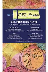 Gel Press Plate, 3