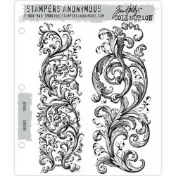 Stampers Anonymous, Tim Holtz leimasinsetti Baroque