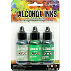 Tim Holtz alkoholimusteet, sävy Mint/Green Spectrum
