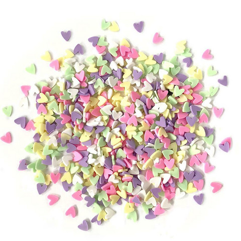 Buttons Galore Sprinkletz -koristeet, Deco Hearts