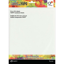 Tim Holtz Alcohol Ink Translucent Yupo -paperi, muovipaperi, 8