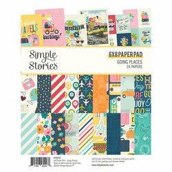 Simple Stories Going Places -paperipakkaus