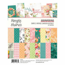 Simple Stories Simple Vintage Garden -paperipakkaus