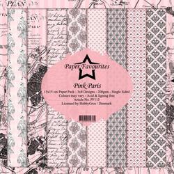 Paper Favourites Pink Paris -paperipakkaus