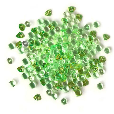 Buttons Galore Shimmerz -koristeet, Sea Turtle