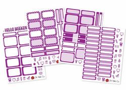 Oh Hello tarrapakkaus The Purples, 4 arkkia