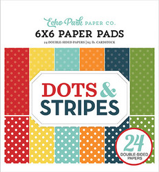 Echo Park Dots & Stripes, Summer -paperipakkaus