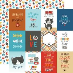 Echo Park I Love My Cat skräppipaperi 3