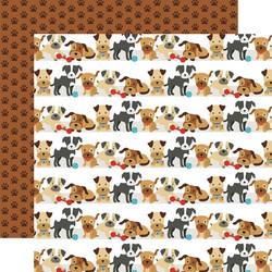 Echo Park I Love My Dog skräppipaperi Go Fetch