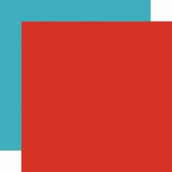 Echo Park I Love My Dog skräppipaperi Red / Light Blue