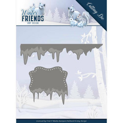 Amy Design Winter Friends stanssisetti Ice Border