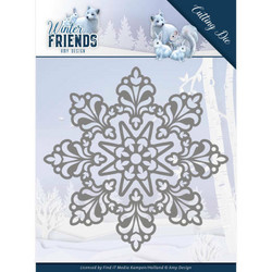 Amy Design Winter Friends stanssisetti Snow Crystal