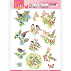 Jeanine's Art Happy Birds 3D-kuvat Feathered Friends