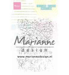 Marianne Design Texture Stamps, Crackles -leimasinsetti