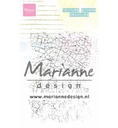 Marianne Design Texture Stamps, Crackles -leimasinsetti