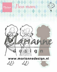 Marianne Design leimasinsetti New Mom