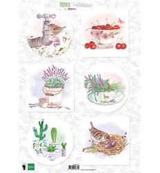 Marianne Design korttikuvat French Antiques Lavender